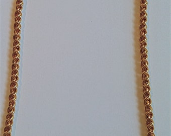 Sale: Swarovski(Swan) Gold Chain and Rhinestone Necklace