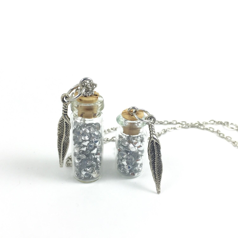 tears bottle pendants tears glass jar pendant