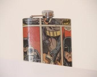 Batman Comic Hip flask