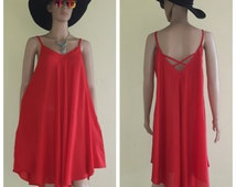 Dresses loose/red gray Dress/Casual/Summer Dresses/Plus Size XS - 9XXL