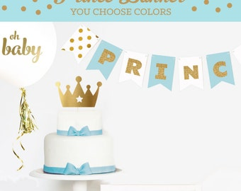 prince baby shower decorations little prince baby shower banner decor royal prince baby shower