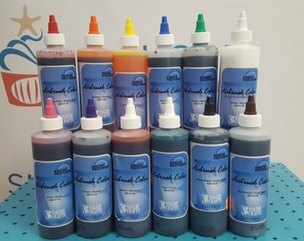 Airbrush Color 12 pc set for Cake or Cookie Decorating