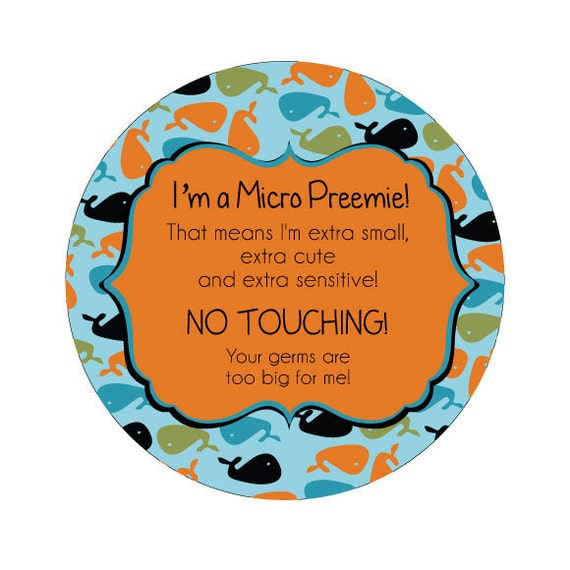 Preemie, newborn, baby car seat tag, baby shower gift, stroller tag, baby car seat sign