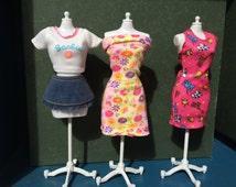 Vintage Barbie Fashion /  Doll clothes lot / 90s fashion doll clothes