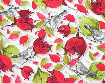 SALE Baroque Garden Ornamental Mesa Fabric Half Yard or By-The-Yard; PWKM016.MESAX; Studio KM Free Spirit; Floral Fabric