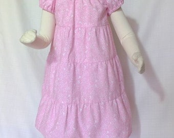 Pink Buttercup Toddler Dress Size 4T