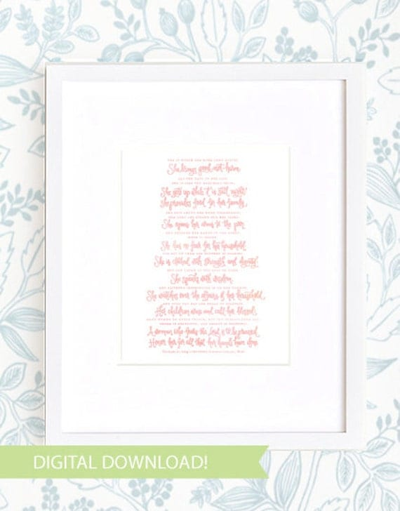 Proverbs 31 Mom - digital download!