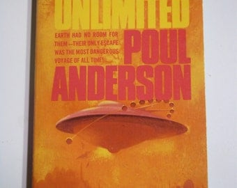 Orbit Unlimited by Poul Anderson Pyramid Books 5th Printing 1974 Vintage Paperback