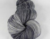 Don't Blink: 400 yards 100% Superwash Merino fingering weight yarn in Elemental yarn base