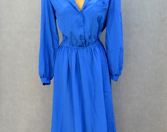 Blue Blouse Dress