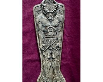 FIERCE MINOTAUR Sculpture Relief Sculpture for Wall Hanging