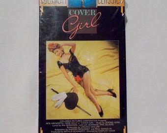 Cover Girl VHS Movie Musical 1944 Rita Hayworth Gene Kelly Sealed