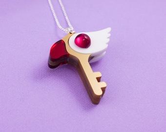 Cardcaptor Sakura - Clow Key Necklace