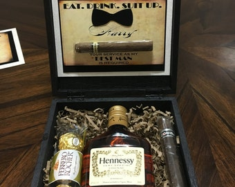 Will you be my groomsman Gift Box