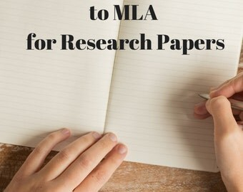 The Simple Guide to MLA for Research Papers (MLA 7th edition)