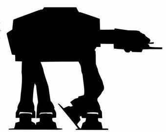 Star Wars Imperial At-At vinyl Decal sticker FREE SHIPPING