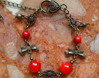 Bracelet: Alice Hearts