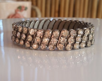 Vintage Sparkle Rhinestone Band/Bracelet
