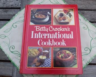 Betty Crocker's International Cookbook 1980