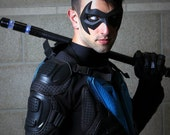 New 52 inspired Nightwing Sidekick Superhero Hero Mask - For your costume (various colors available)
