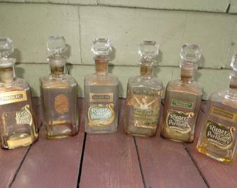 Rieger Perfume Bottle Bottles Antique Perfumes Pharmacy