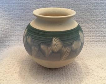Spirit of the Wheel Pottery Vase, Nova Scotia, Canada, Pottery Vase, Ceramic Vase, Hand Thrown Pottery