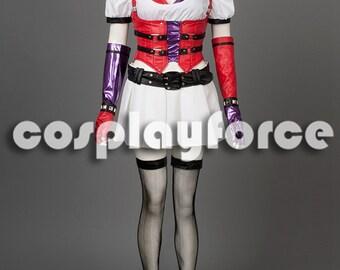 Arkham Asylum City - Harley Quinn Cosplay Costume
