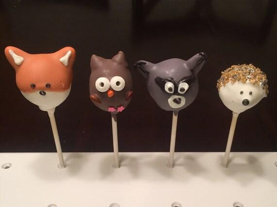 Woodlands Dessert Ideas: Fox Cookies, Bear Cakes and More ... |Woodland Cake Balls