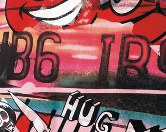 UB6 IB9 Hug me fitted T-shirt 9202