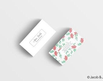 Pre-made business card design - business card template - custom business card design - business card - luxury business card