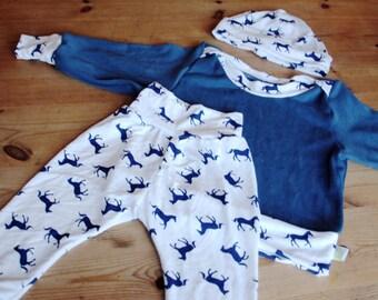 Baby Clothes Gift Set, Baby Boy Gift, Baby Girl Gift, Baby Clothes Set, Baby Set, Baby Boy, Baby Girl, Newborn Baby, Horses Baby Set