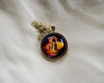 Dalek/Dr. Who Cameo Necklace (Version 1)