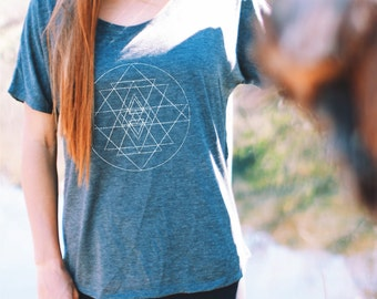 Women's Flowy Graphic Tee - FLOWY SHIRT - Graphic Tee - Womens Flowy Shirt Yoga Shirt - Inspirational Shirt - Graphic Tee - Gifts For Xmas