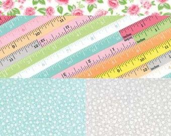 Sew and Sew from Moda - Ruler Floral - 4 Fabric Bundle