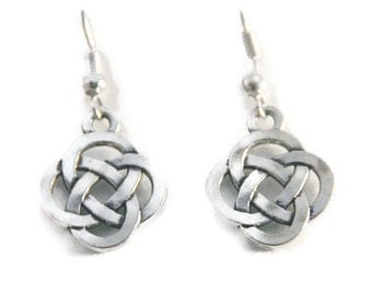 Celtic Knot Earrings, Celtic Earrings, Celtic jewelry