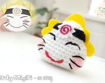 Uzumaki Naruto Onigiri Amigurumi