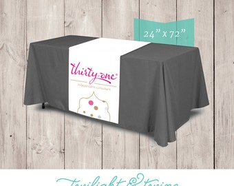 ThirtyOne Party or Trade Show Table Runner - Thirty-One, 31, Thirty One