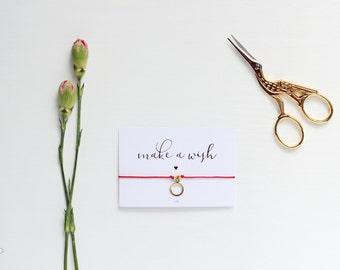 Make a Wish Gold Karma Bracelet, Gold Karma Bracelet, Gold Karma Jewelry, Karma Friendship Bracelet, BFF, Wish Bracelet, Wish Jewelry
