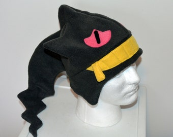 Banette Pokemon Fleece Hat with Earflaps