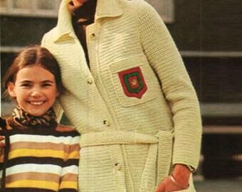 Crochet Cardigan Pattern Crochet Long Sweater Pattern Crochet Top Pattern Crochet Jacket Crochet Coat Crochet Womens Cardigan Pattern