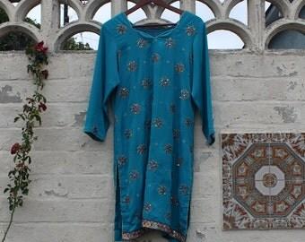 Cerulean Whirlpool Dress