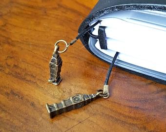 Vintage brass Big Ben London TN bookmark