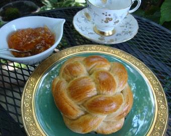 Individual Challah Bread -Braided Bread - Round Bread - Yeast Bread - Jewish Holiday Bread - Individual Loaves - Artisan Bread (4 loaves)