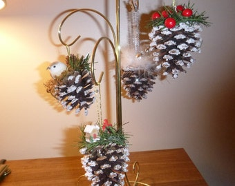 Pinecone Ornaments / Christmas Ornaments