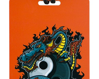 YaYtag - Trendy luggage ID tag - 2011 Yin-Yang