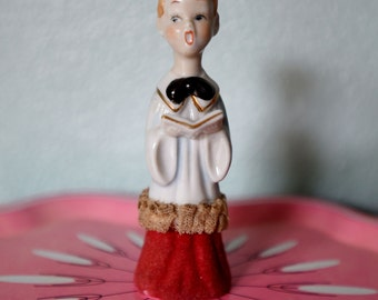Vintage Ceramic Choir Boy