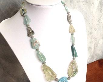 Roman Glass Beads Ancient Antique OOAK    RG-105