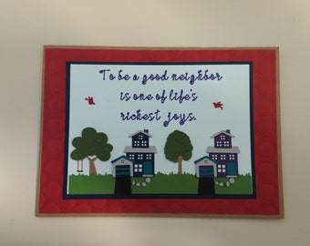 Good Neighbor Card