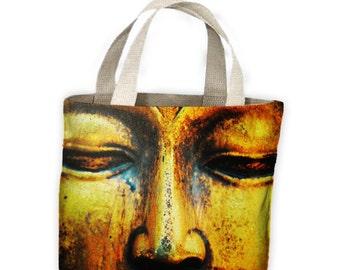 Buddha Eyes Tote Shopping Bag For Life - Buddhist Buddhism