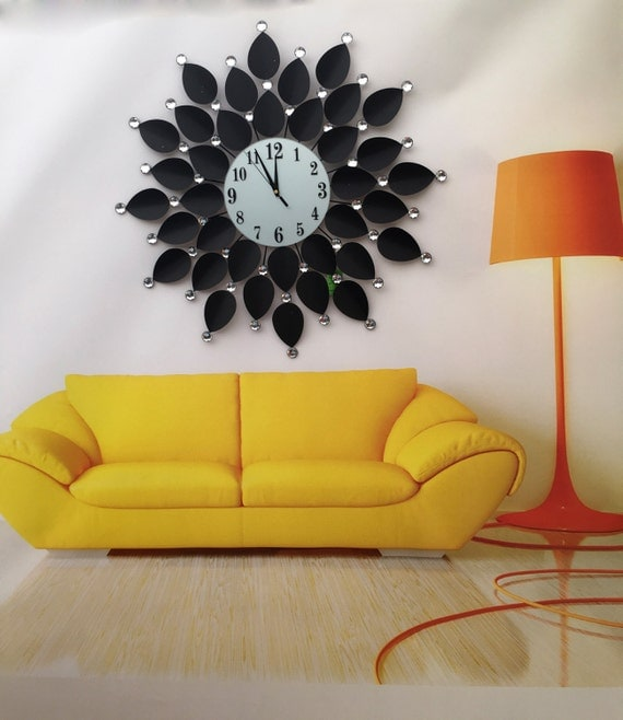 modern wall clock fashion art clock wall decorate